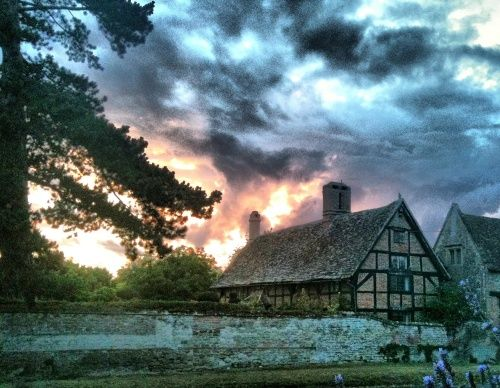 Sunset over King's Manor. Taken with my mobile one early evening. A picture of: East Hendred, Oxfordshire. Submitted by Terry Bean(19th September 2010)