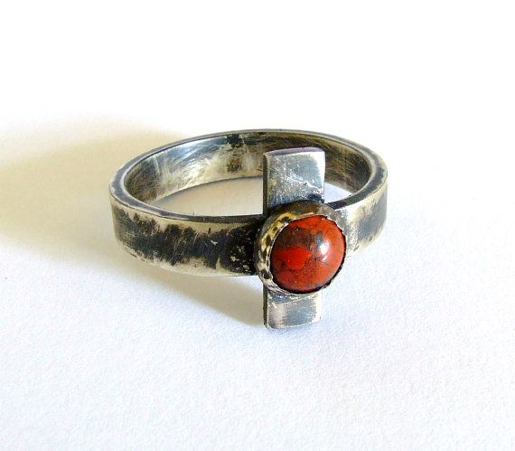Mens cross ring oxidiz... Vintage Wedding Rings 1800