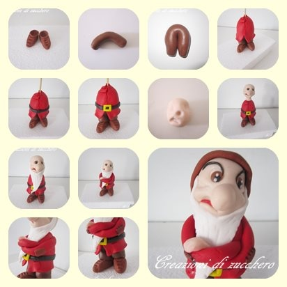 Tuto du nain - Fimo, Cernit et accessoires : http://www.creactivites.com/236-pate-polymere