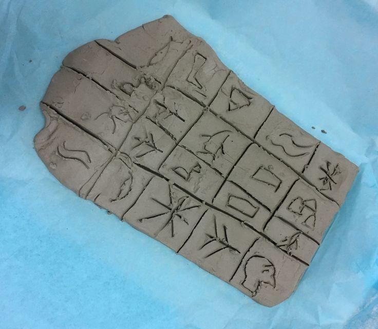 Scrittura su argilla - scuola primaria