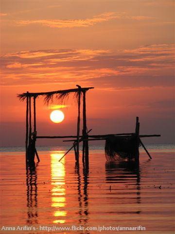Sunset at Karimun Jawa Island, Jawa Tengah, Indonesia