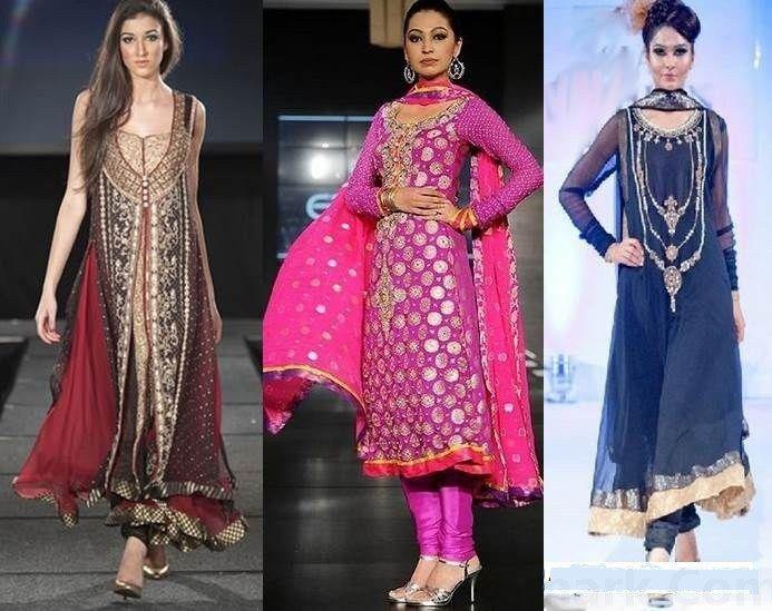 Latest Pakistani Party Wear Dresses Collection 2016