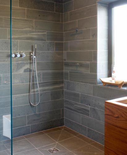 Wetroom design homebuilding renovating home for Small ensuite wet room ideas