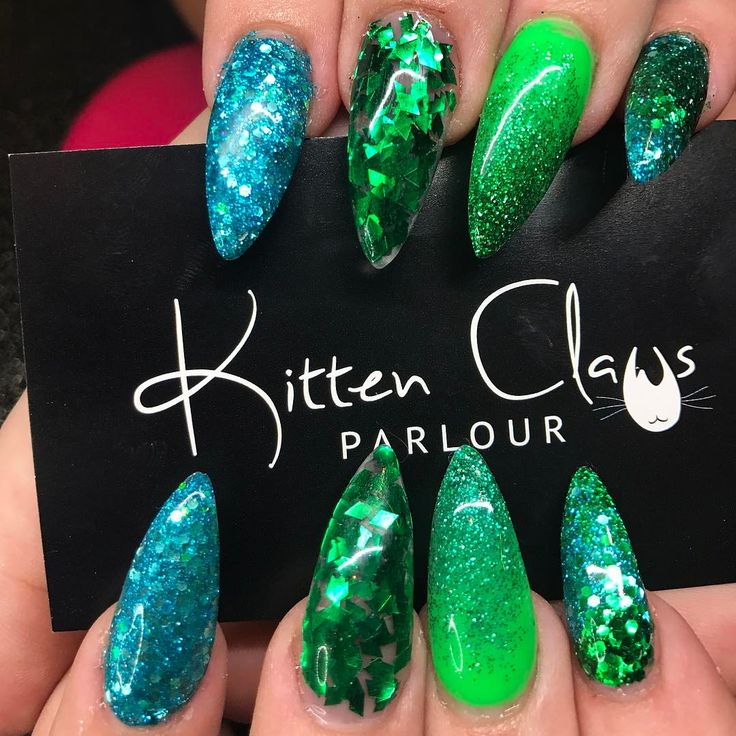 The 14 best Nails - Mermaid images on Pinterest | Heels, Nail arts ...