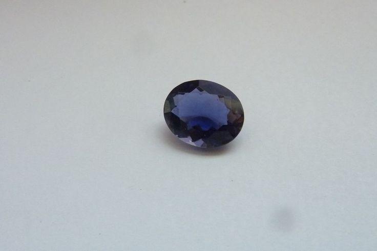 2.74 Cts Oval Shape Blue Color 100% Natural Iolite Loose Gemstone ~ 11*9 MM #KinuBabaGems