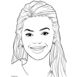women faces coloring pages google search color people ladies colouring pages girl face. Black Bedroom Furniture Sets. Home Design Ideas