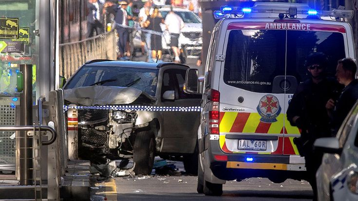 The driver who rammed his car into Melbourne pedestrians is a 32-year-old Australian citizen of Afghan descent with a history of drug use and mental health issues. Police say there is no evidence that it was an act of terrorism.