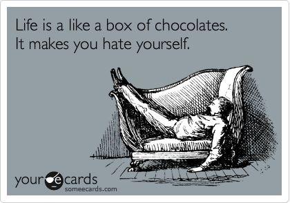 i know, right?: Ecard Shit, Ecard Snark, Box Of Chocolates