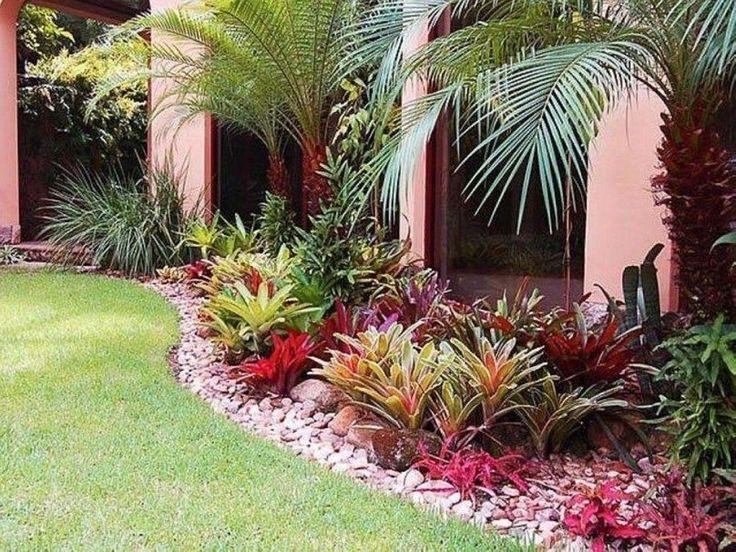 20+ maravilhosas idéias de paisagismo para jardins tropicais   – Garden & Outdoor