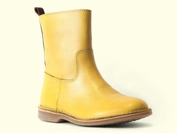 NR.8 low boot yellow-cognac