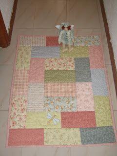 El chinijo del patchwork: Mantita de bebé y dormilón