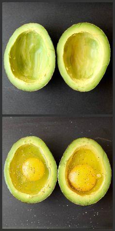 How to Bake Eggs in an Avocado!