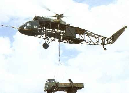 1958 - 1st flight Westland Westminster, British cargo helicopter; 2 turboshaft engines, single, 5-bladed rotor