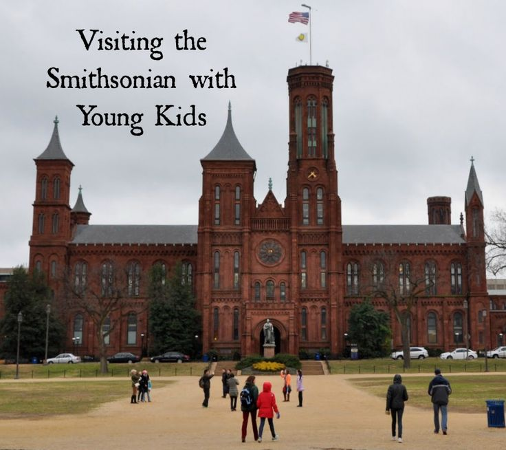 Tips for visiting the Smithsonian in Washington, DC with Young Kids