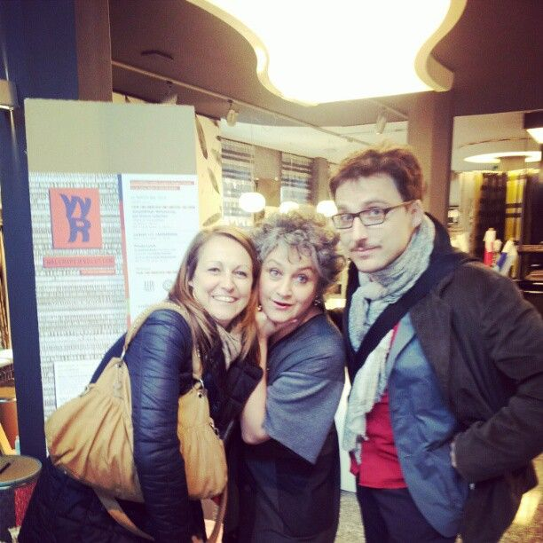 #portaveneziaindesign wallpaperevolution with Matteo Ragni, Paola Jannelli, Paola baravalle at #JVstore #mdw12