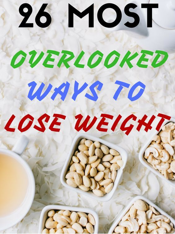 26 Most Overlooked Ways to Lose Weight – Lifee Too