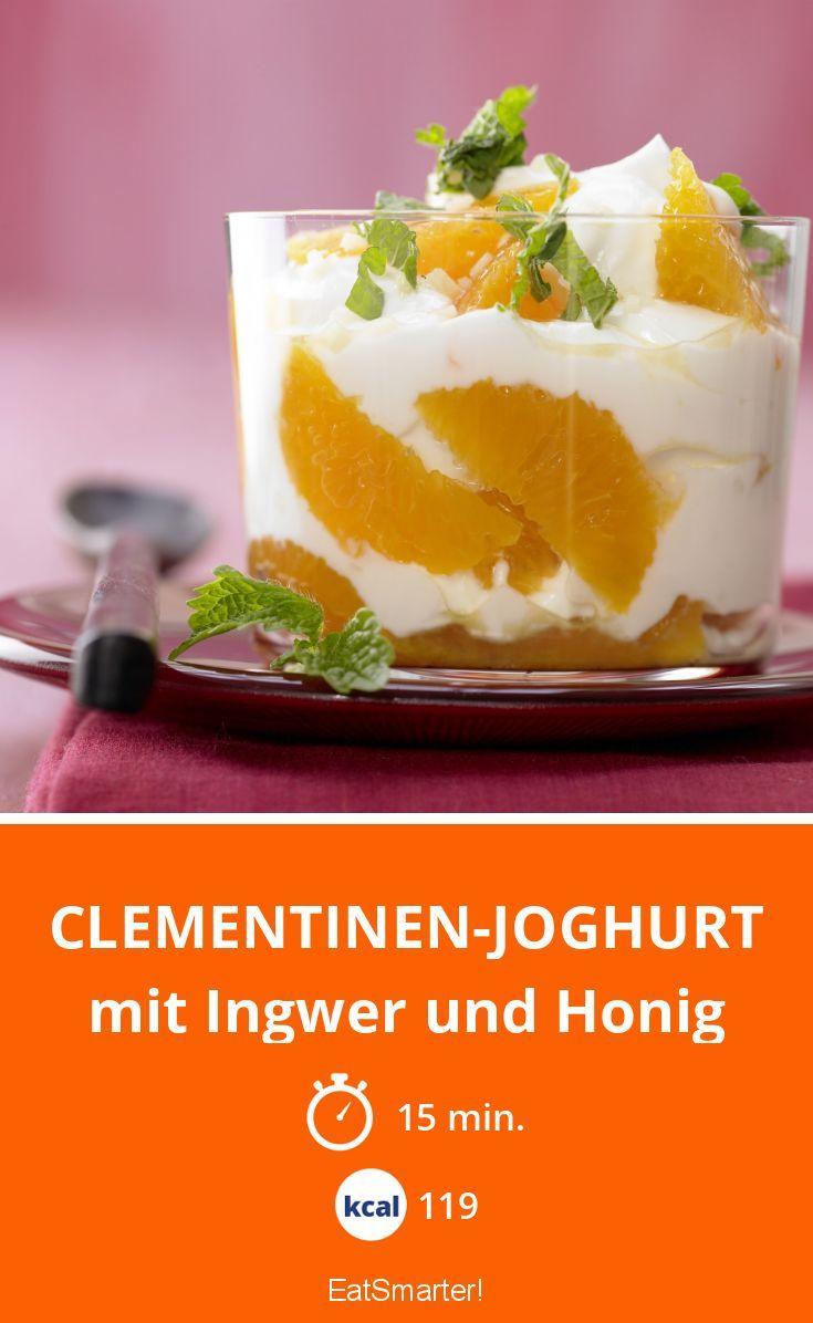 Clémentinen Joghurt? Liefert viel Protein und ist dazu noch ein richtiges Mood-Food!