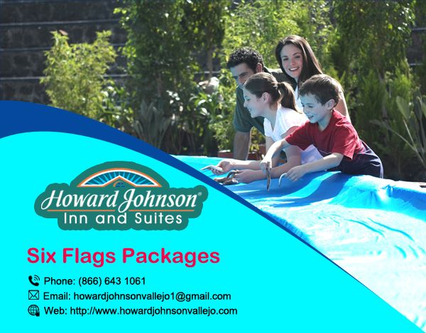 #Six #Flags Discovery Kingdom Park, Howard Johnson is an ideal alternative and offer #Six_Flags #Packages when seeking out a resort,as you plan your household commute. http://bit.ly/2ctBog5