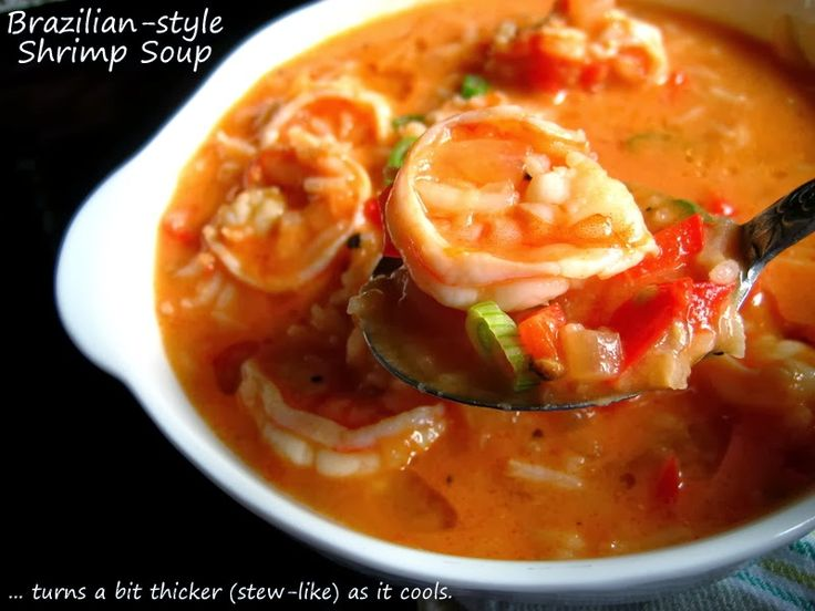 Brazilian-style Shrimp Soup/Stew... | Food: Bakin' & Cookin' | Pi...
