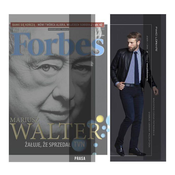 Pako Lorente w najnowszym numerze magazynu Forbes.