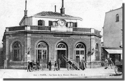 La ligne de la Petite Ceinture de Paris et ses gares