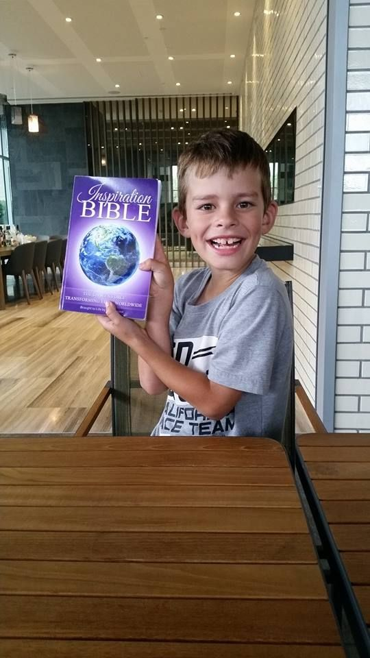 Sebastian Butler one of the youngest contributors of the Inspiration Bible