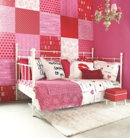 Esta Home Pink Quilt Wallpaper Of Different Designs For