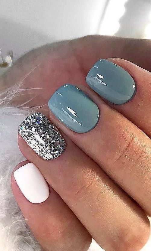 61 Summer Nail Color Ideas For Exceptional Look 2020 #color #exceptional #ideas #summer