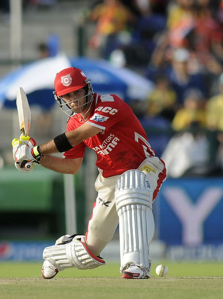MOM Glenn Maxwell steps out for a big hit