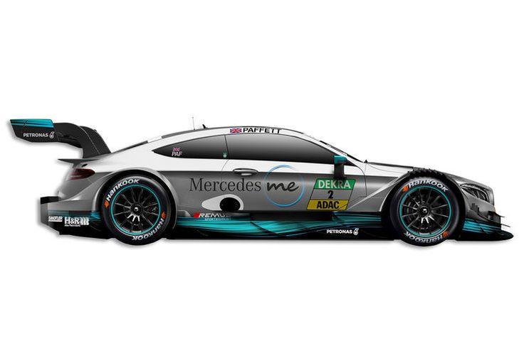 Gary Paffett - Mercedes - DTM-Auto 2017