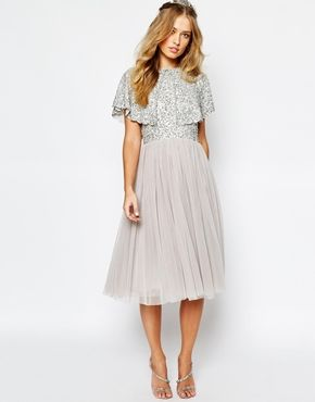 lace bridesmaid dresses and shoes asos