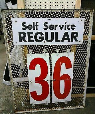 Vintage-Gas-Station-Price-Sign-49-High-37-Wide-Man-Cave-Garage-Petroliana
