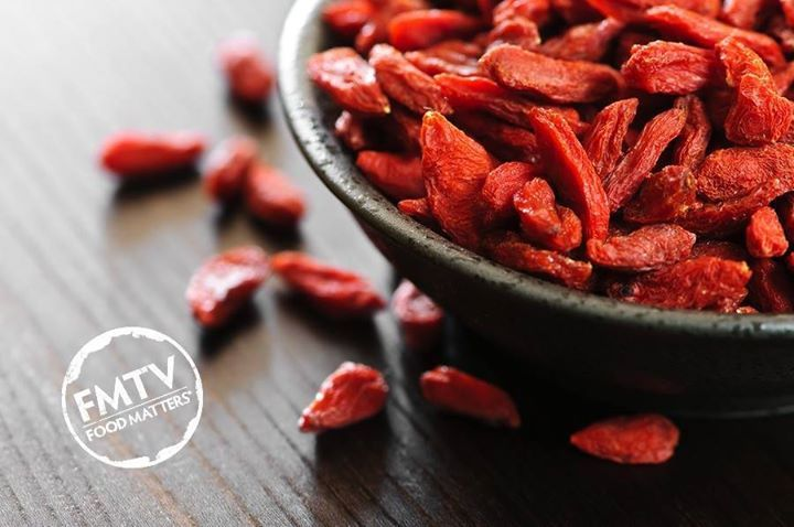 Goji berries also known as wolfberries contain 18 kinds of amino acids, high quantity of calcium, selenium, zinc, vitamin B2 and C, beta-carotene and potassium and they are also thought to boost your immune system and help you lose weight! http://www.fmtv.com/