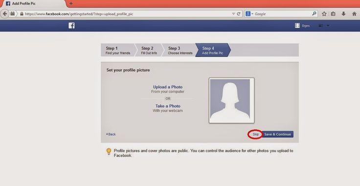 3 bước để tạo Facebook nhanh gon