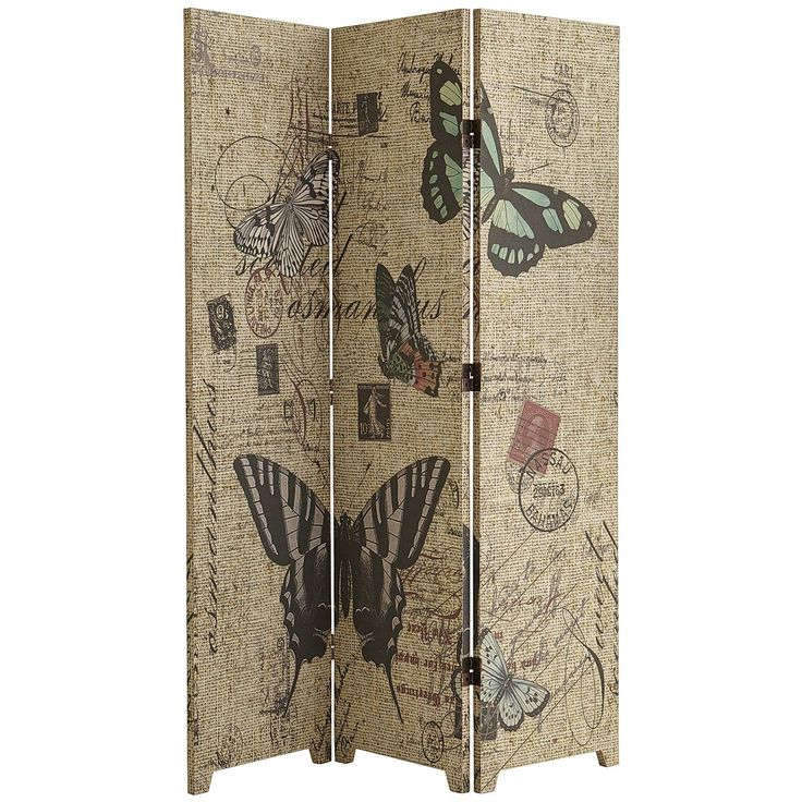 butterfly room divider