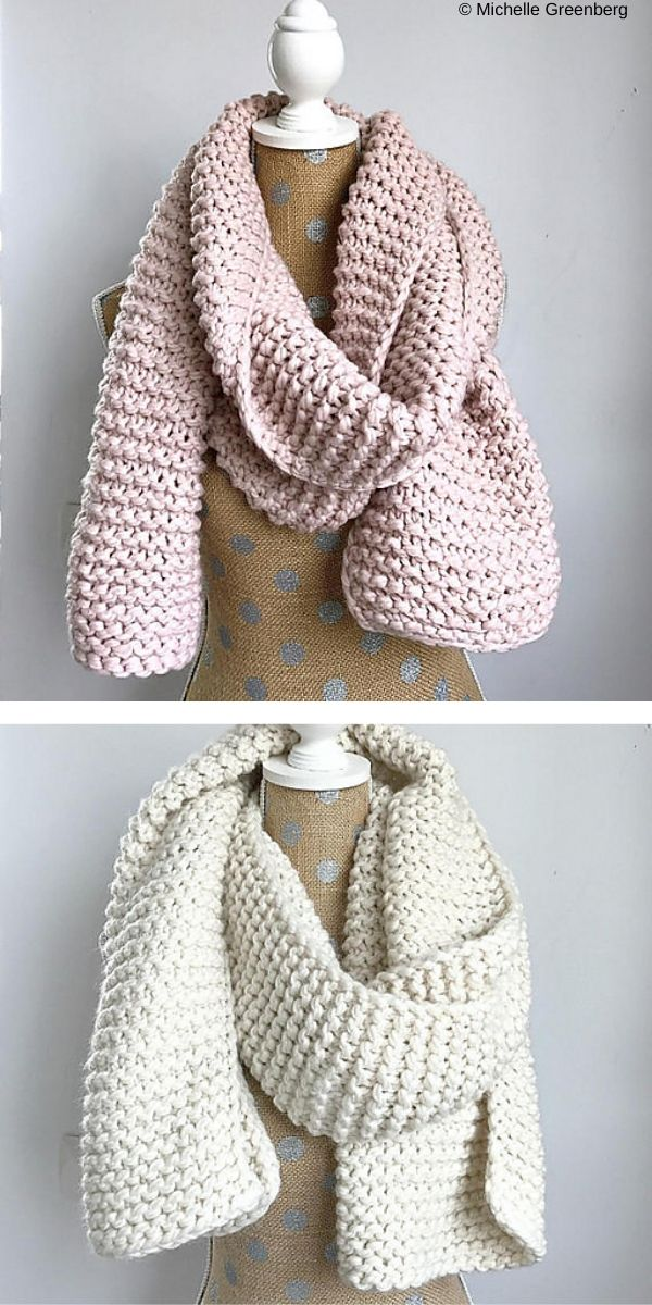 Learn How To Easily Knit A Scarf In Zigzag Pattern