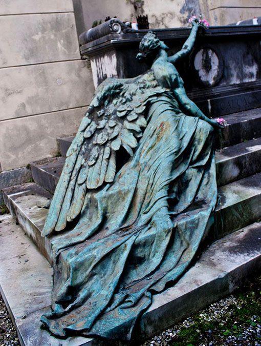 Somewhere in Europe...photo via European Cemeteries.