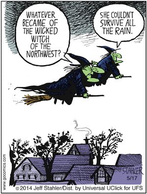 Witch comic strip