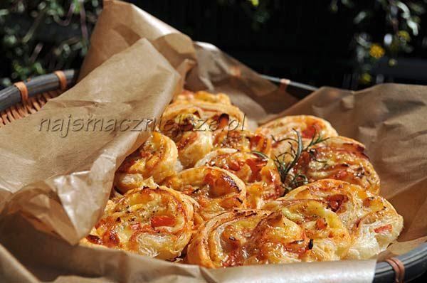 Małe francuskie pizze