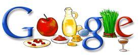 Google Logo - Persian New Year - March 20, 2008