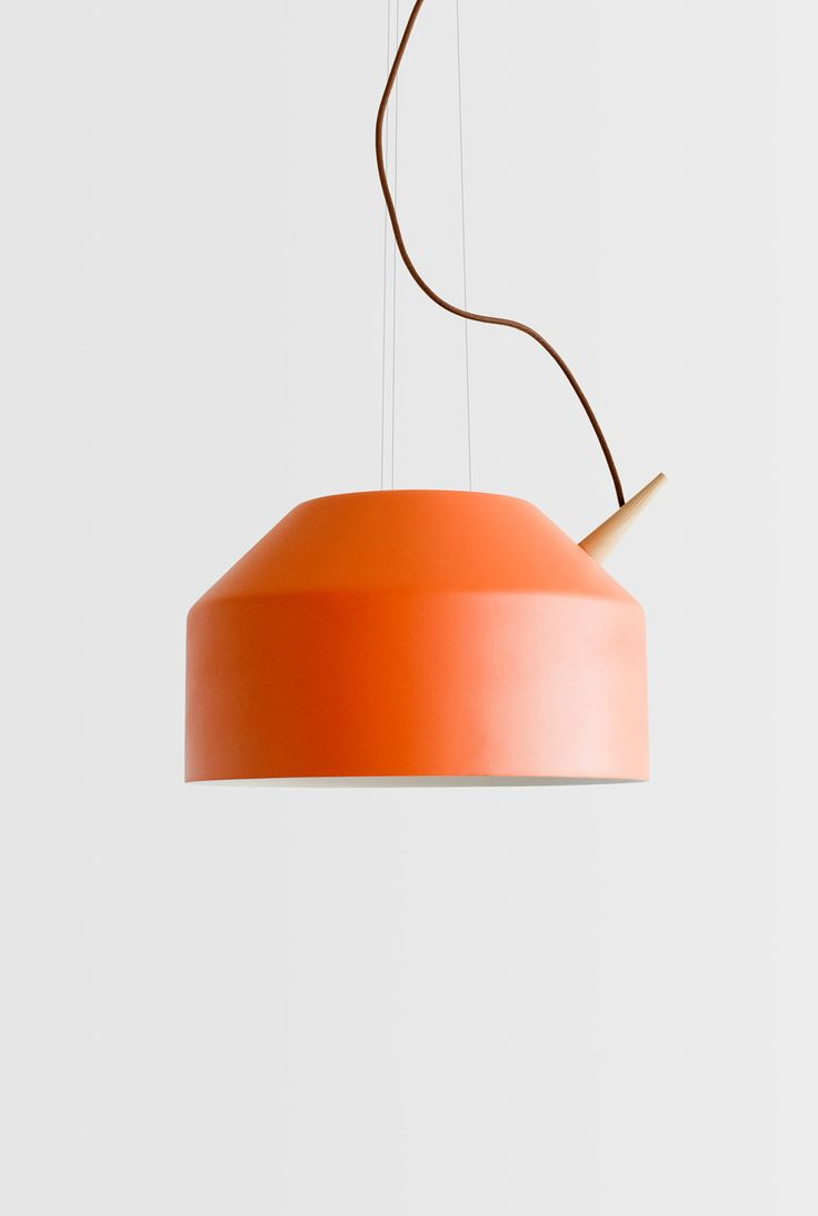 A new lamp from La Mamba / Omelette-ed is a suspended series that's shaped like a tea kettle.