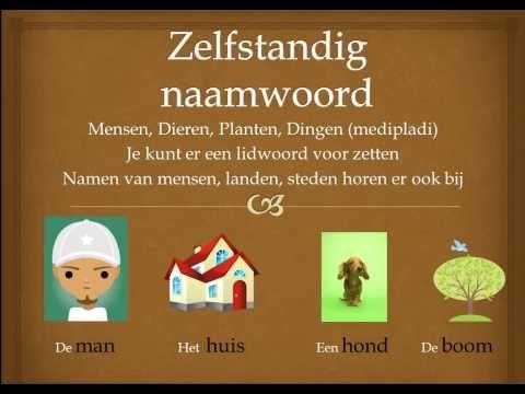 Het lidwoord, bijvoeglijk naamwoord en zelfstandig naamwoord
