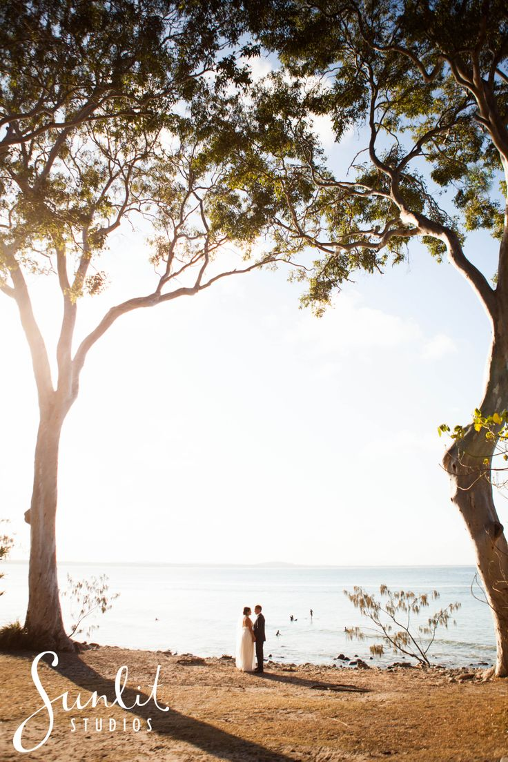 Noosa Wedding Photo at Noosa National Park.