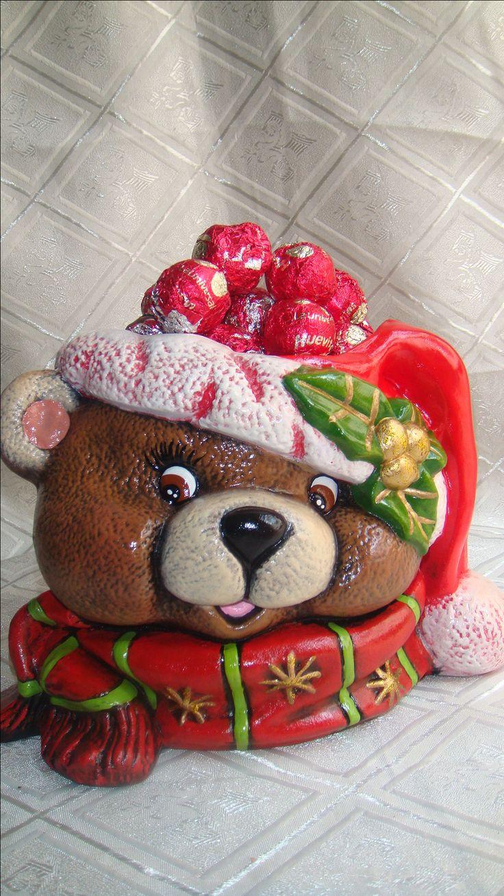 Para chocolates, caramelos. Adorno
