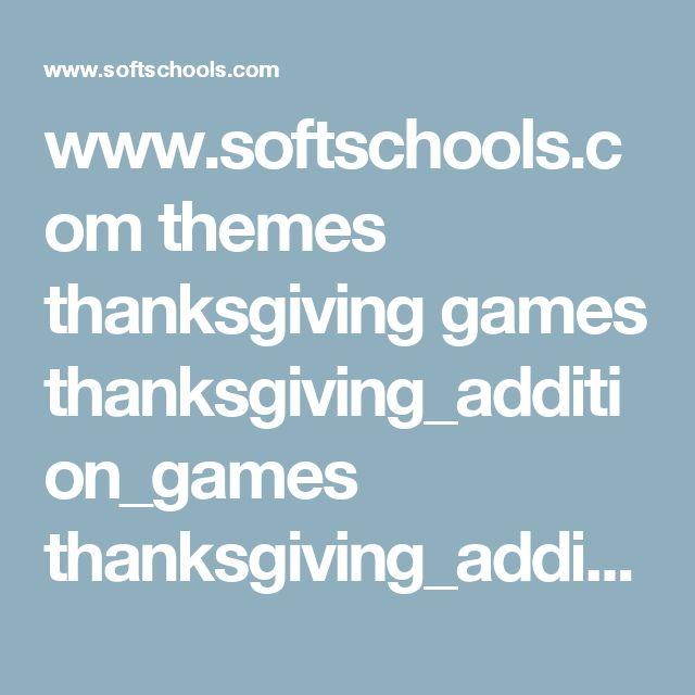 www.softschools.com themes thanksgiving games thanksgiving_addition_games thanksgiving_addition_game.swf