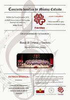 El Rincón Cofrade: Martos.  Concierto Benefico de Musica Cofrade