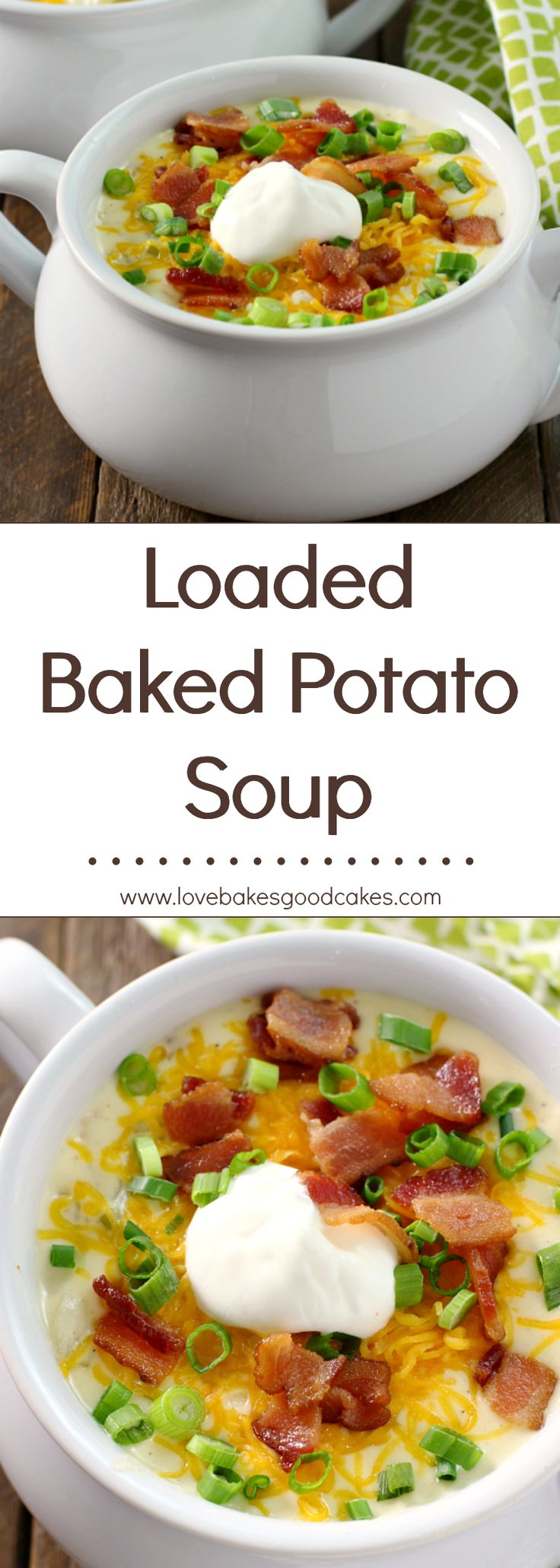 AMAZING!! My family loves this Loaded Baked Potato Soup!! Ad