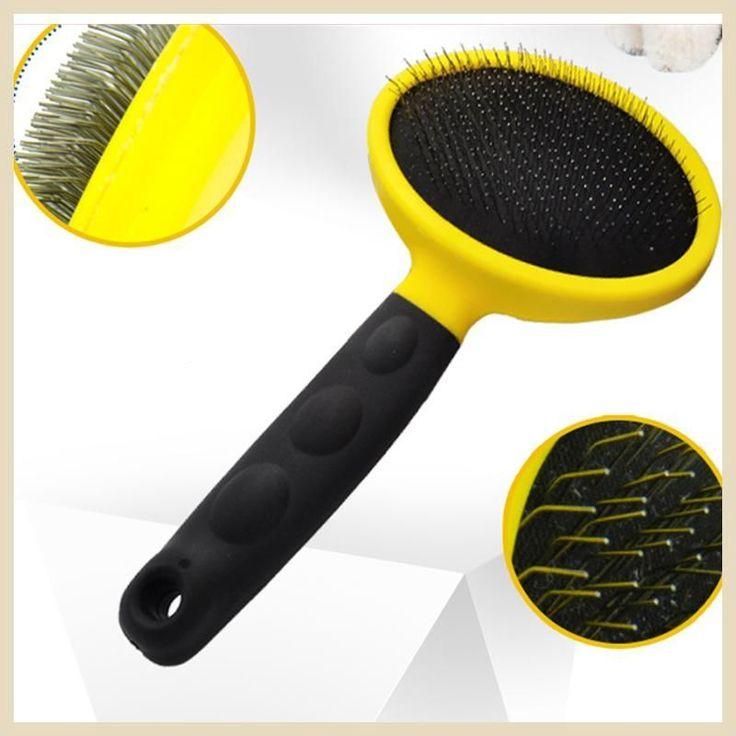 Dog Brushes And Combs Pet Dog Brush Shedding Cepillo Para Perros Pet Hair Trimmer Huisdieren Bath Produtos Para Grooming WWM721 #HairTrimmer