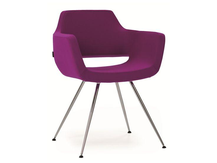 Nano chair, 4 legs conical base