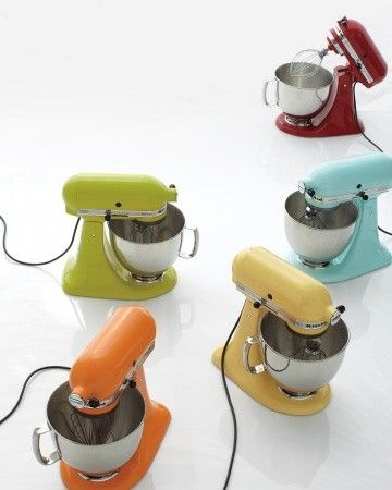 The KitchenAid Mixer | Which is your favorite color?